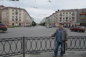 Площадь Пять углов. Мурманск